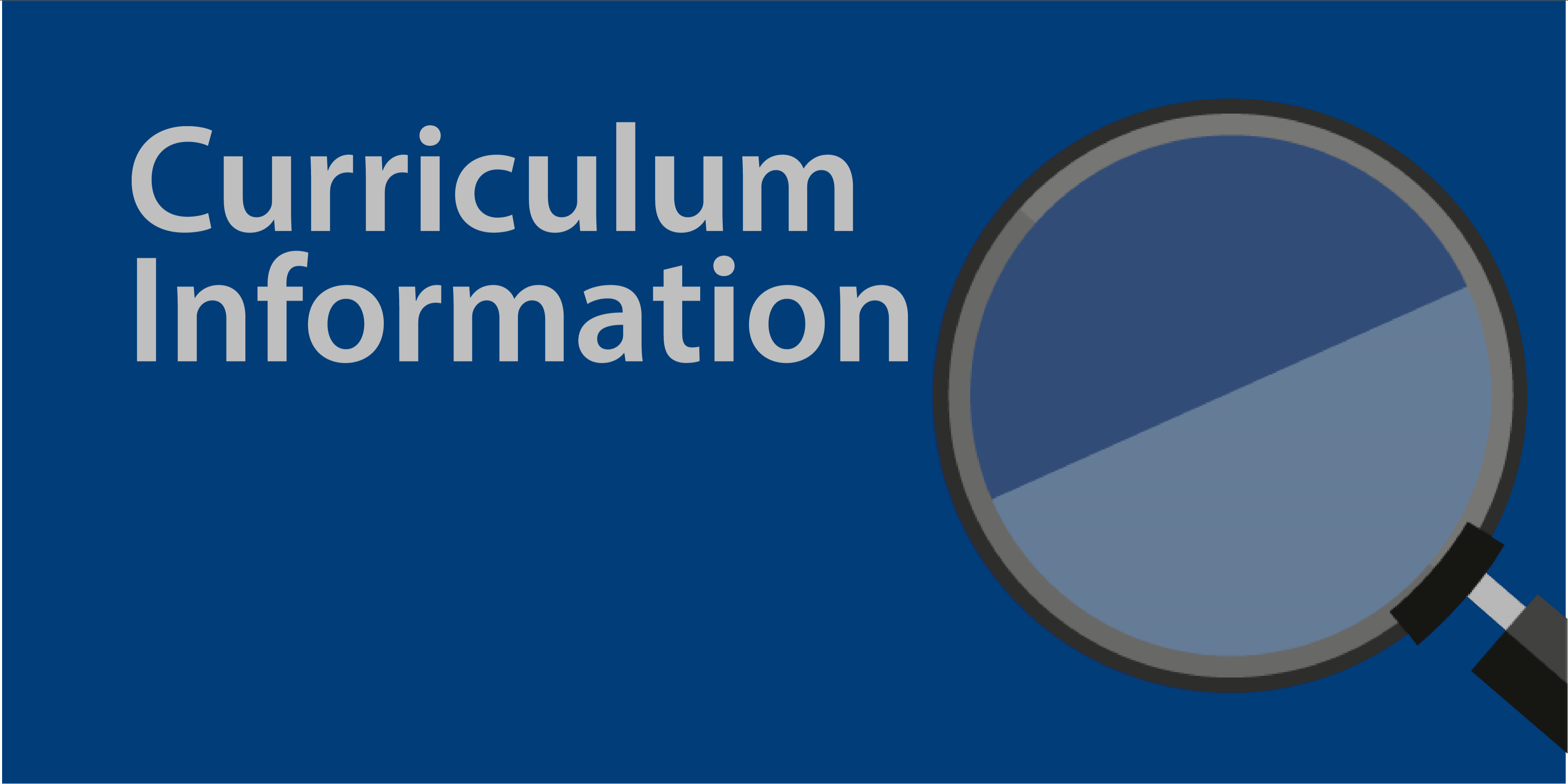 Curriculum Information